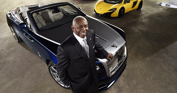 Thomas Moorehead, first African American Lamborghini dealer
