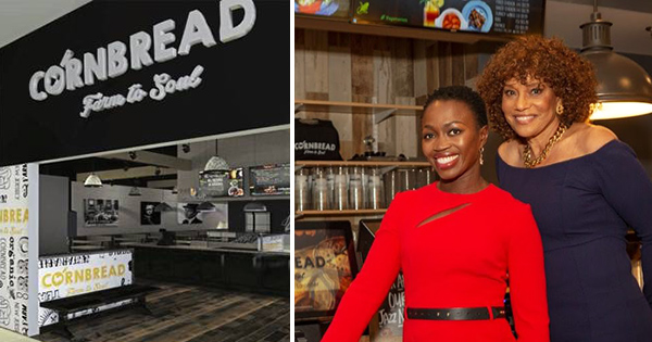 Adenah Bayoh and Zadie Smith, co-founders of Cornbread restaurant
