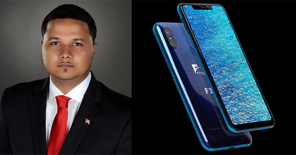 Freddie Figgers, inventor first 5G smartphone made in the U.S.